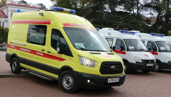 Передача машин скорой помощи в Севастополе
