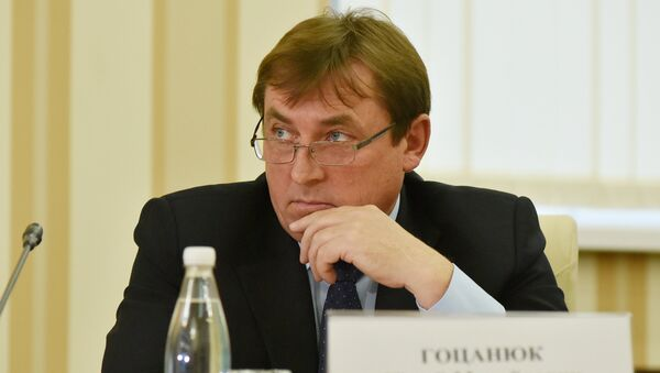 Заместитель председателя Совета министров Республики Крым Юрий Гоцанюк