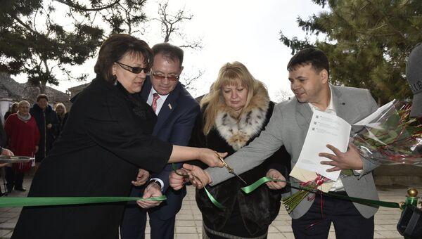 Открытие Крымского центра протезирования и реабилитации
