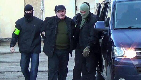 Бывший военнослужащий штаба Черноморского флота Леонид Пархоменко, задержанный ФСБ в Крыму