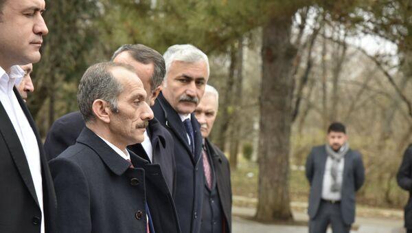 Глава делегации из Турецкой Республики Хасан Дженгиз