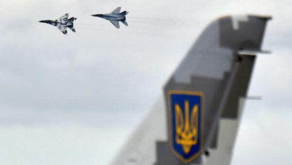 Самолеты Миг-29 украинских ВВС