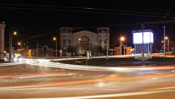 Ночной Симферополь. Архивное фото