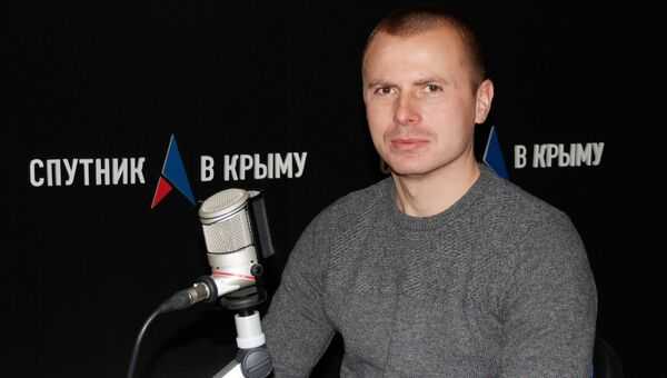 Директор Детского парка Симферополя Александр Шабанов