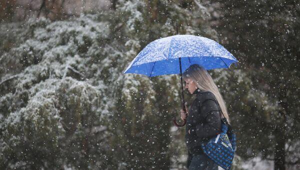 Зима в Крыму