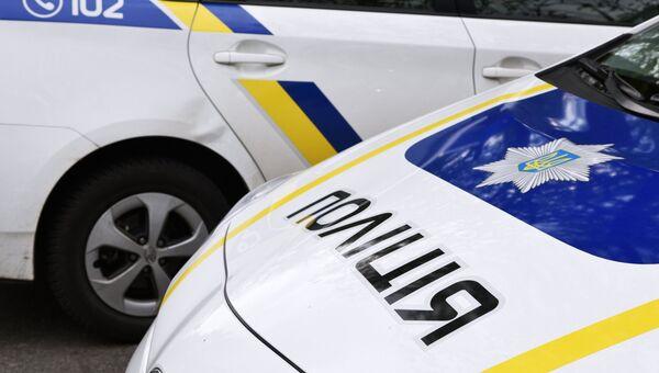 Машины украинской полиции