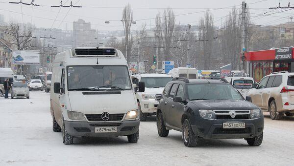 Дороги Симферополя зимой. Архивное фото