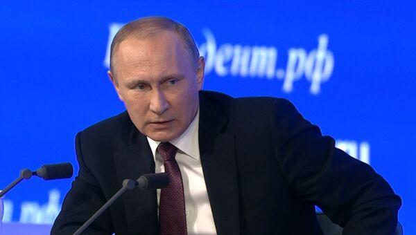 Путин заявил о решении проблем энергоснабжения Крыма