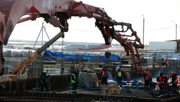 Строительство нового аэровокзального комплекса аэропорта Симферополь