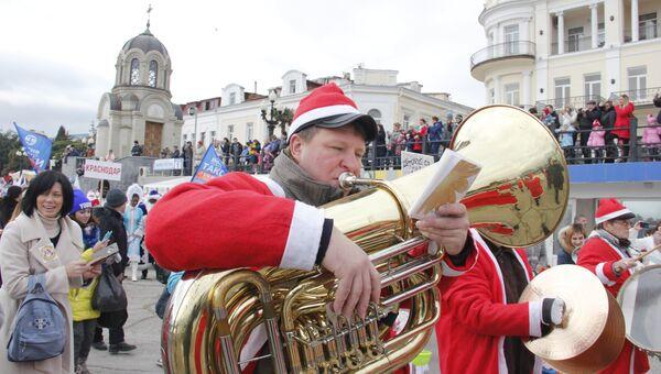 Ялтинский Мороз-парад
