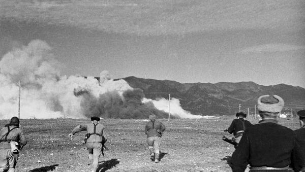 Оборона Севастополя. Наступление морской пехоты. Великая Отечественная война 1941-1945 годов