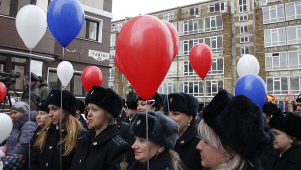 В Севастополе ввели в эксплуатацию жилой дом для сотрудников Пограничной службы ФСБ России