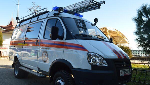 Спасательная машина «КРЫМ-СПАС»