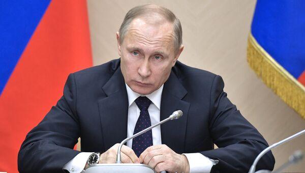 Президент РФ В. Путин