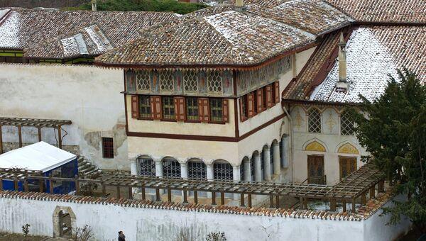 Реставрационные работы в Ханском дворце Бахчисарая