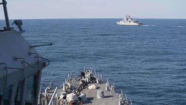 Военные корабли США в Черном море. Архивное фото
