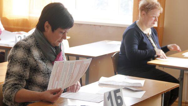 Министр образования, науки и молодежи Республики Крым Наталья Гончарова акция Единый день сдачи ЕГЭ родителями