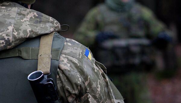 Солдат ВСУ