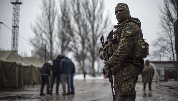 Солдаты ВСУ в Авдеевке. Архивное фото