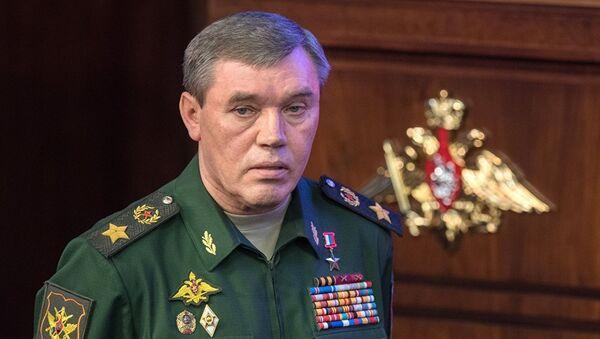 Начальник Генштаба ВС РФ генерал армии Валерий Герасимов. Архивное фото