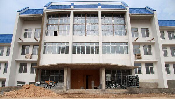 Строительство школы и детского сада в микрорайоне Казачья бухта в Севастополе. Архивное фото