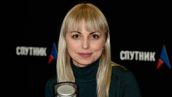 Заместитель председателя РОО Украинская община Крыма Анастасия Гридчина