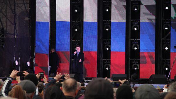 Иосиф Кобзон выступил в Севастополе на концерте в честь годовщины воссоединения Крыма с Россией
