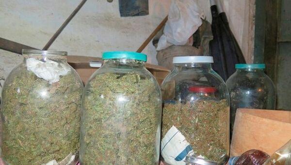 В Керчи нашли 3 кг марихуаны, закопанные в огороде местного жителя