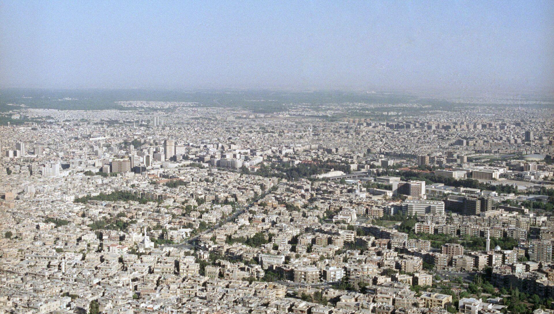 Вид на Дамаск с горы Касьюн - РИА Новости, 1920, 03.09.2019