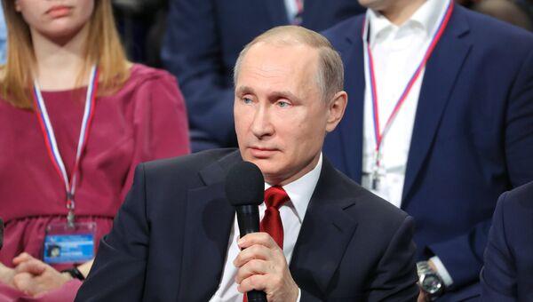 Рабочая поездка президента РФ В. Путина в Северо-Западный федеральный округ
