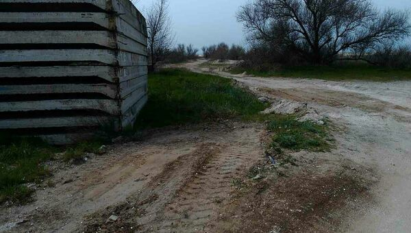 Место в поселке Мирный (Евпатория), где раньше была свалка