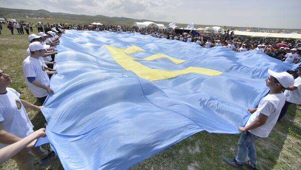 Крымско-татарский праздник Хыдырлез в Крыму. Архивное фото