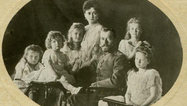 Фото семьи Николая II. Экспонат Древлехранилища (музея) памяти семьи императора Николая II
