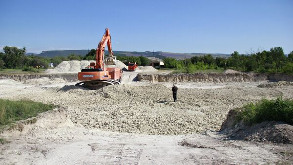 Строительство школы на 600 мест в Бахчисарае