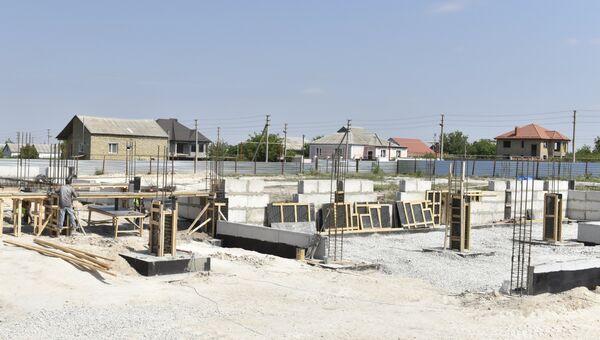Строительство детского сада в микрорайоне Хошкельды в Симферополе