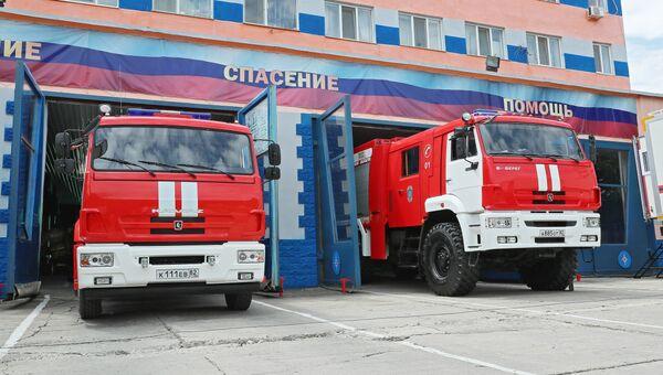 Современная техника Главного управления МЧС России по Республике Крым