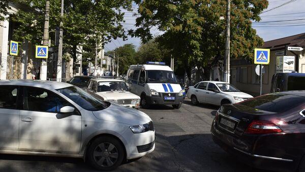 Транспорт в центре Симферополя