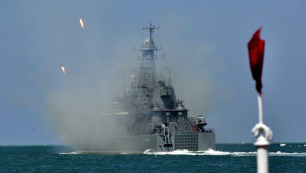 Парад кораблей и военно-спортивный праздник в честь Дня ВМФ России в Севастополе