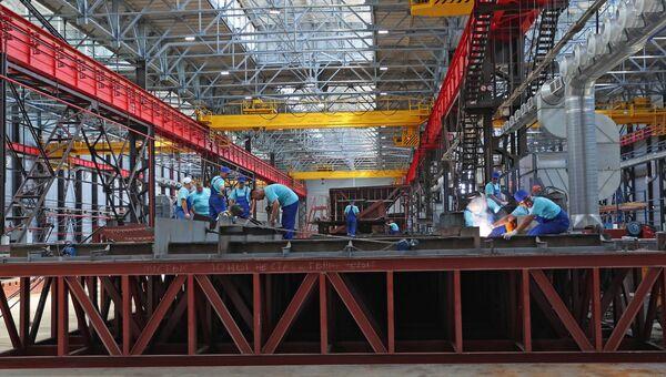 Судостроительный завод Море в Феодосии