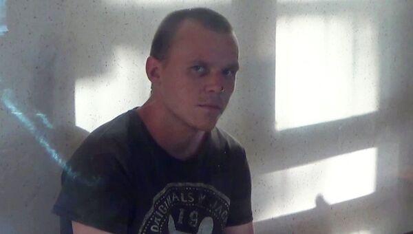 Гражданин Украины Геннадий Лемешко, задержанный управлением ФСБ России по Республике Крым
