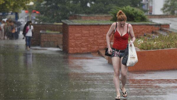 Дождь в Симферополе