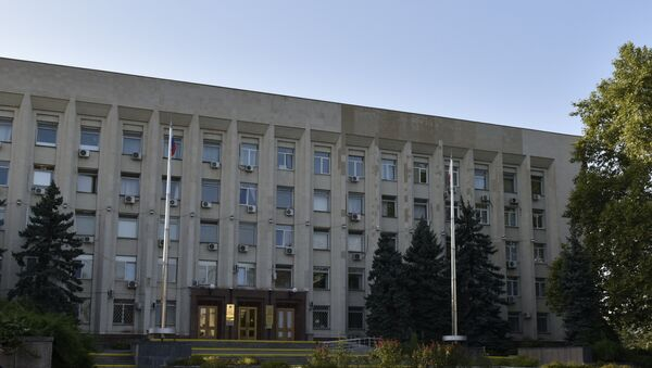 Здание горсовета и администрации Симферополя