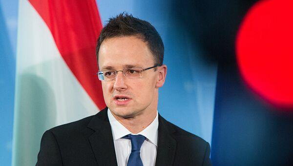 Глава МИД Венгрии Петер Сиярто