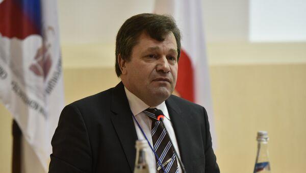 Немецкий политик и общественный деятель Андреас Маурер на форуме друзей Крыма в Ялте