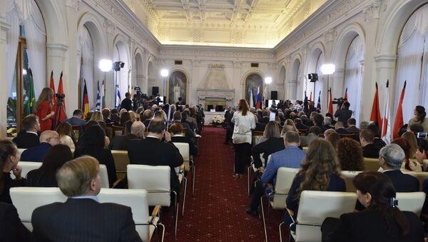 Открытие международной конференции Россия, Крым и современные международные отношения в Ливадийском дворце