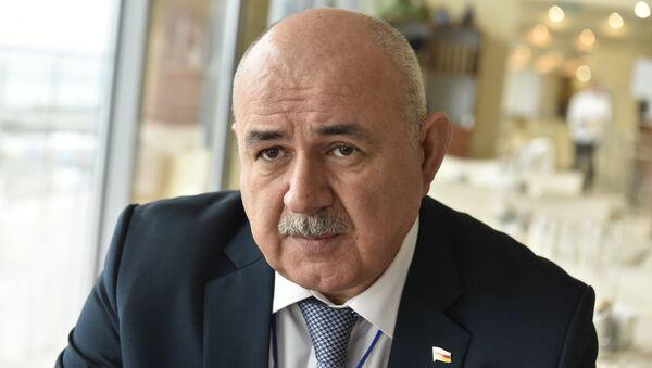 Министр иностранных дел Южной Осетии Дмитрий Медоев