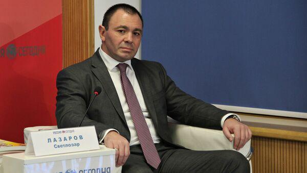 Национальный координатор парламентской политической партии Атака, экс-главный секретарь МВД Болгарии, генерал армии Светлозар Лазаров