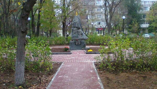 Благоустроенный сквер в Новофедоровке Сакского района