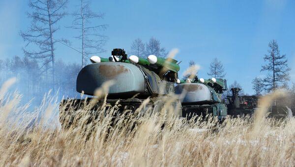 Зенитные ракетные комплексы Бук. Архивное фото