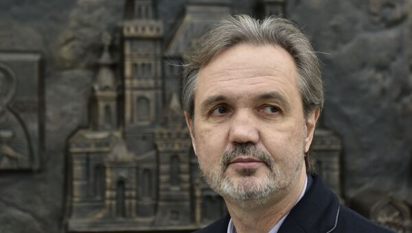 Скульптор Андрей Ковальчук, создавший Памятник императору Александру III в Ливадийском дворце